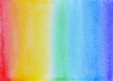 Watercolor rainbow Royalty Free Stock Photography