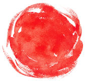 Watercolor red background Stock Photo