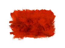 Watercolor Red Background. Stock Photos