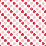 Watercolor red dots seamless pattern. Modern textile design. Wrapping paper texture. Watercolor red dots seamless pattern. Modern textile design. Wrapping paper Stock Images
