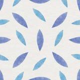 Watercolor Retro seamless pattern Stock Photos