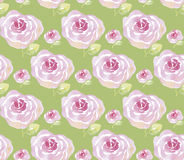 Watercolor rose flowers illustration. Royalty Free Stock Photos