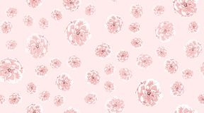 Watercolor Roses, Floral Seamless Pattern. vector illustration