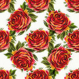 Watercolor roses Royalty Free Stock Image