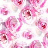 Watercolor roses Royalty Free Stock Photo