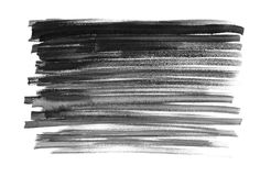 watercolor Samenvatting geschilderde die inktslagen op waterverfdocument worden geplaatst inktdaling Royalty-vrije Stock Afbeelding