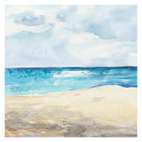 Watercolor Sea background Royalty Free Stock Photos