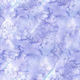 Watercolor seamless background of lilac color with stains and stains of paints, for decoration and design, winter illustration Royalty Free Stock Images