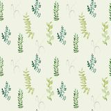 Watercolor seamless pattern stock images