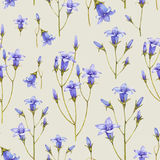 Watercolor seamless pattern Stock Photo