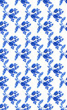 Watercolor seamless pattern with. Blue color Royalty Free Illustration