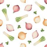 Watercolor seamless pattern Royalty Free Stock Photo