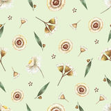 Watercolor seamless pattern. Royalty Free Stock Photo