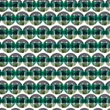 Watercolor seamless pattern. Circles abstract background. Can be used for wrapping paper and fabric design. Royalty Free Stock Photos