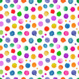 Watercolor seamless pattern. Royalty Free Stock Photography