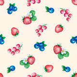 Watercolor seamless pattern Royalty Free Stock Photo