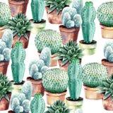 Watercolor seamless pattern stock image