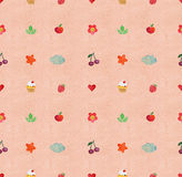 Watercolor seamless pattern handmade Royalty Free Stock Images