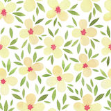 Watercolor seamless pattern. Stock Image
