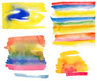 Watercolor set Stock Photography