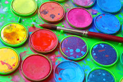 Watercolor Set Royalty Free Stock Images