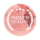 Watercolor shopping icon in eps vector Royalty Free Stock Images