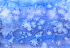 Watercolor sky Royalty Free Stock Image