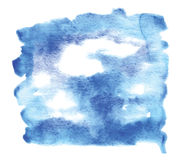 Watercolor sky Royalty Free Stock Photography