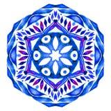 Watercolor Snowflake Illustration Royalty Free Stock Image