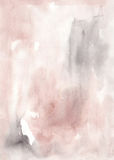 Watercolor soft pastel brown abstract wash drawing  background f Royalty Free Stock Photography