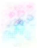 Watercolor Speaker Wall stock photography