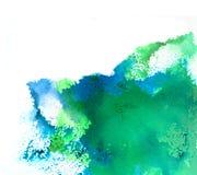 Watercolor splash Stock Image