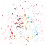 Watercolor splash background. Royalty Free Stock Image
