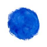 Watercolor splash. Stock Images