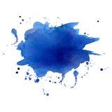 Watercolor splash. Royalty Free Stock Image