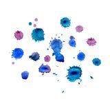 Watercolor splash. Stock Image