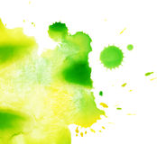 Watercolor splash texture Royalty Free Stock Photos