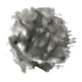 Watercolor splash. watercolor abstract drop isolated blot black for your design art stock illustration