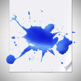 Watercolor splash Royalty Free Stock Photos
