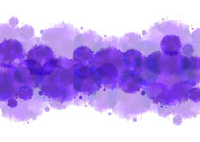 Watercolor splatters background Stock Photography