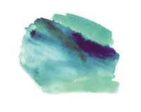 Watercolor spot Stock Images