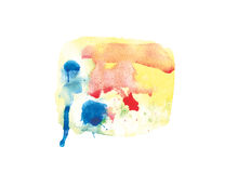 Watercolor spot Royalty Free Stock Photography