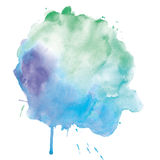 Watercolor spot Stock Image