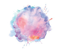 Watercolor spot Royalty Free Stock Photo