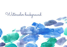 Watercolor spot background Royalty Free Stock Photo