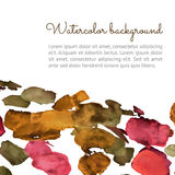 Watercolor spot background Stock Photo