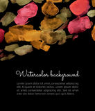 Watercolor spot background Stock Image