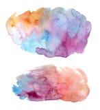 Watercolor Spots Stock Photos
