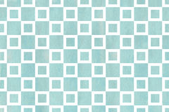 Watercolor square pattern. Stock Photography