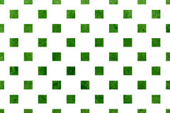 Watercolor square pattern. Royalty Free Stock Photography
